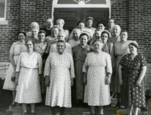 The Women's Service and Missionary Auxiliary, 1954