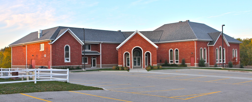 The dedication service for the new Floradale Mennonite Church was held June, 2006